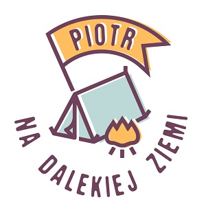 Piotr na dalekiej ziemi logo
