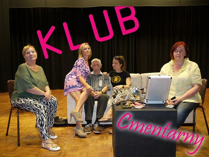 "Teatr Stary w Adelaide - próba ""Klub Cmentarny"""